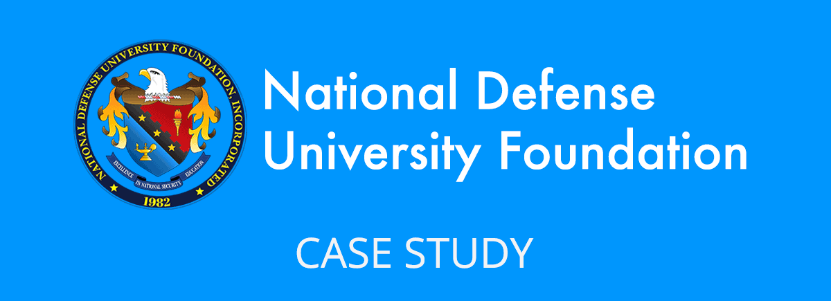 National Defense University Foundation Website Case Study