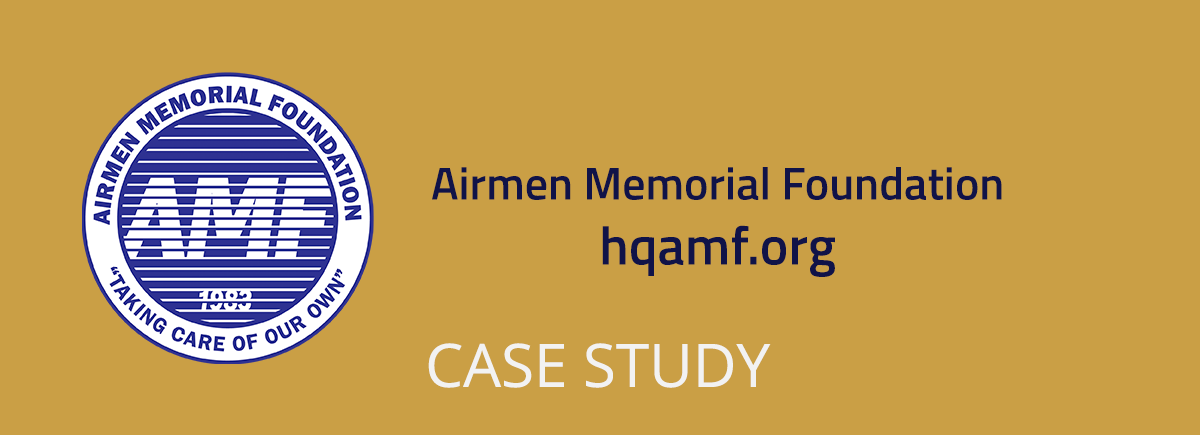 Airmen Memorial Foundation - hqamf.org Case Study