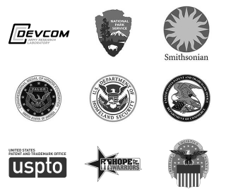 Creative Liquid partners include Army Research Lab, National Park Service, Smithsonian, Congressional Medal of Honor Society, US Patent and Trademark, Hope for the Warriors, and Defense Logistics Agency.
